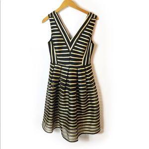 Ark & Co Vixen striped dress Sz M